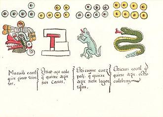 Codex Magliabechiano - Image: Codex Magliabechiano folio 11v