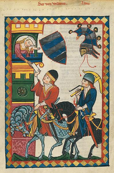 Datei:Codex Manesse 201r Der von Wildonie.jpg