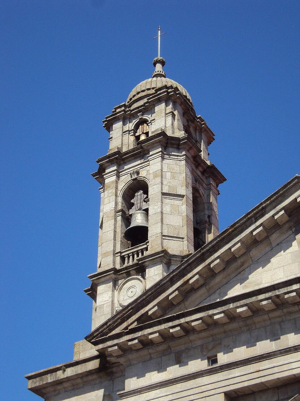Colexiata, torre norte, Vigo