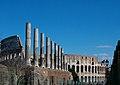 Colonne Tempio Venere Colosseo Roma 09feb08.jpg