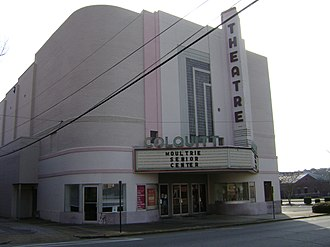 Moultrie Commercial Historic District - Image: Colquitt Theatre