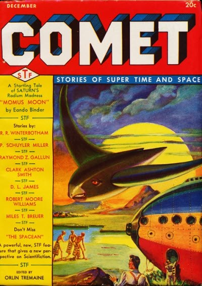 Comet Stories December 1940