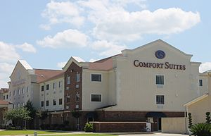 Vidalia, Louisiana - Comfort Suites in Vidalia is located near the Convention Center along the Mississippi River.