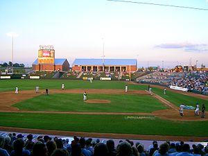 CommunityAmerica Ballpark - T-Bones' evening game
