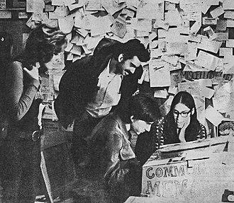 Community Memory - Community Memory terminal at Leopold's Records, Berkeley, CA, 1973
