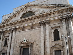 Terlizzi's most important church, the Concattedrale di San Michele Arcangelo.