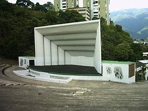 Symphony No. 3 (Chávez) - Anfiteatro José Ángel Lamas, Caracas, where Chávez's Third Symphony was premiered
