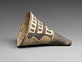 Cone-shaped vase with geometric decoration MET DP366942.jpg