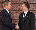 Congressman Jim DeMint welcomes President George W. Bush to the Upstate.jpg