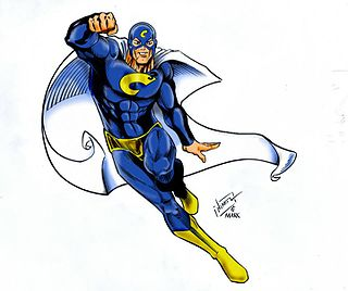 Superhero Type of stock character