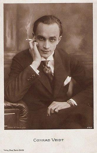 Conrad Veidt - Veidt, ca. 1920