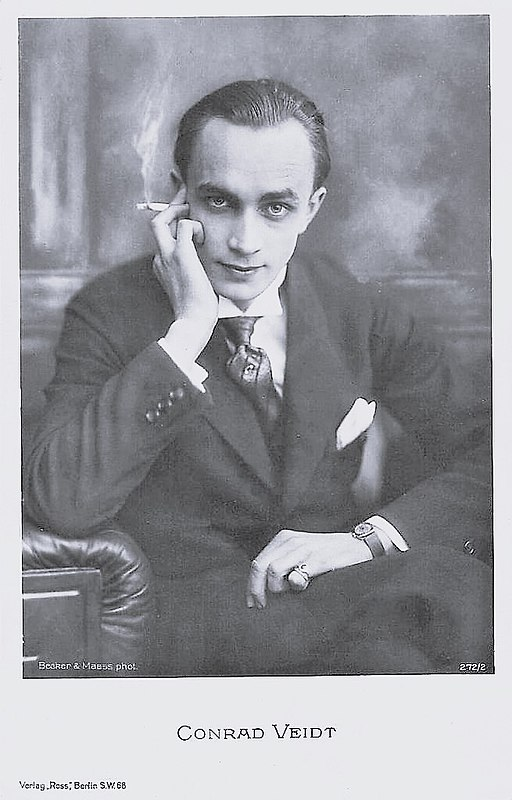 Conrad Veidt by Becker & Maass