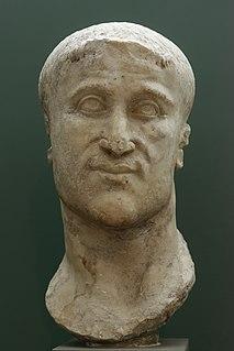 Constantius Chlorus Roman emperor from 293 to 306