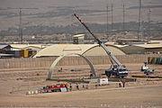 Construction in Tarin Kowt