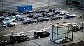 Copenhagen Airport taxis (34971897445).jpg