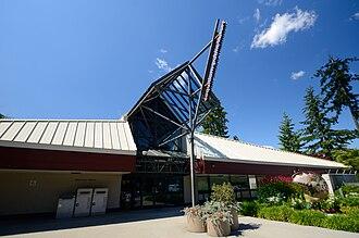 Coquitlam Public Library - Image: Coquitlam Poirier Library