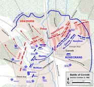 Corinth October 4 1862