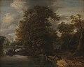 Cornelis Gerritsz Decker - Landscape by a River. In the Background a Limekiln - KMSsp577 - Statens Museum for Kunst.jpg