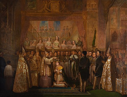 July 18: Coronation of Emperor Pedro II of Brazil Coronation of dom pedro II.jpg