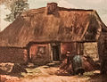 Cottage with Peasant Woman Digging - My Dream.jpg