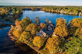 Country Pond Lake in Rockingham County, New Hampshire