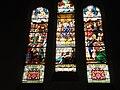 Courbevoie - Église Saint-Maurice de Bécon - vitrail Louis IX.JPG