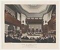 Court of Common Pleas, Westminster Hall (Microcosm of London, plate 23) MET DP873996.jpg