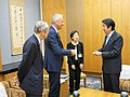 Courtesy Call on Prime Minister Shinzo Abe (35026563165).jpg