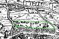 Covent Garden from the Ralph Agas 1572 map of London - marked.jpg