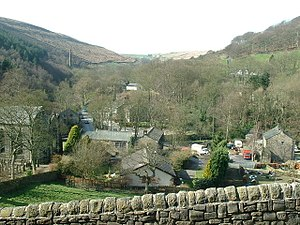 Cragg Vale - Image: Cragg Vale geograph.org.uk 365782