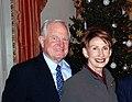 Craig and Barbara Barrett at Helsinki embassy 2008.jpg