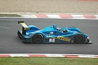Rebadged as the Creation 03S, here driven by Jamie Campbell-Walter at the 2005 1000km of Spa