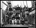 Crew members of a three-masted ship JOSEPH CONRAD (8078503145).jpg