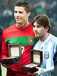 Messi–Ronaldo rivalry Football rivalry between Lionel Messi and Cristiano Ronaldo