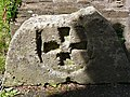 Cross carved in stone. St Budeaux Church, Plymouth. - geograph.org.uk - 914883.jpg