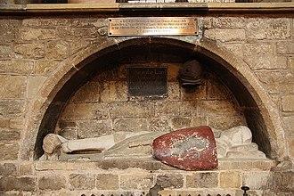 English church monuments - Image: Crusader knight geograph.org.uk 1292441