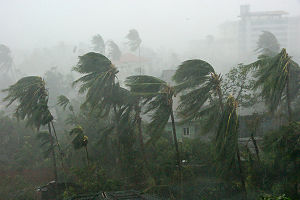 Cyclone Nargis - Conditions in Myanmar as Nargis made landfall