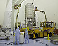Cygnus 5 Pressurized Module in the Payload Hazardous Servicing Facility.jpg