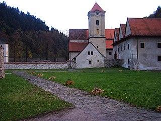 Červený Kláštor Village in Slovakia