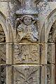 Décord du trumeau du portail de l'église Saint-Golven (Taupon, Morbihan, France).jpg