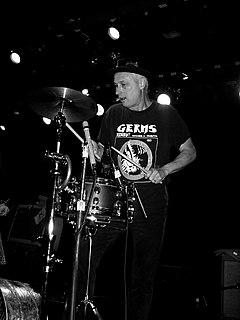 D. J. Bonebrake American punk drummer