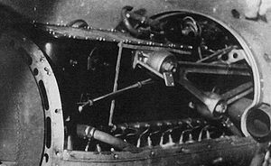 Daimler-Benz DB 600 - DB 600A in a Heinkel He 111B nacelle
