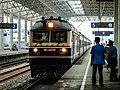 DF11-0432 Hauls K348 at Bengbu Railway Station.jpg