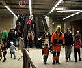 DOD metro Nádraží Veleslavín 2014, eskalátor od nástupišť.jpg