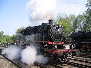 DRG Class 64 - No. 64 491 at Neuenmarkt in 2010