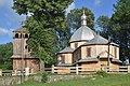 Dachnów, cerkiew Podwyższenia Krzyża Świętego, dzwonnica (HB10).jpg
