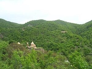 Dadivank - Image: Dadivank Monastery (general view)