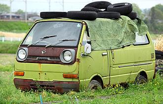 Daihatsu Hijet - Daihatsu Hijet 360 Van (S38)