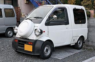 Microvan - Daihatsu Midget II Cargo, smaller than Hijet.