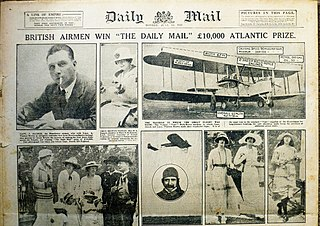 <i>Daily Mail</i> aviation prizes
